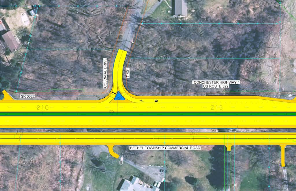 Colonial Drive improvements
